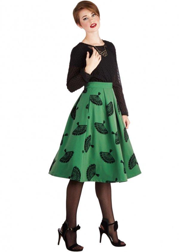 Bettie Page B. Jones Skirt