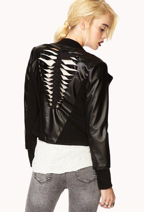 Shredded Biker Jacket