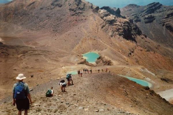 Get High at the Tongariro Alpine Crossing
