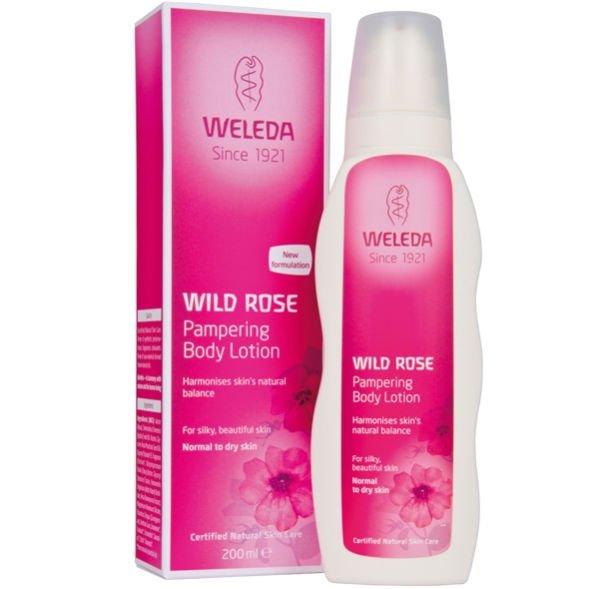 Weleda Wild Rose Pampering Body Lotion