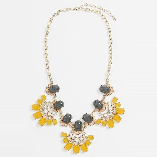 Tildon 'Vintage Floral' Statement Necklace