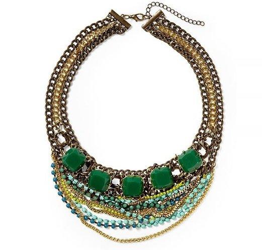 Multi Chain Statement Necklace by Pim + Larkin