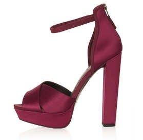 Lola Satin Strap Sandals