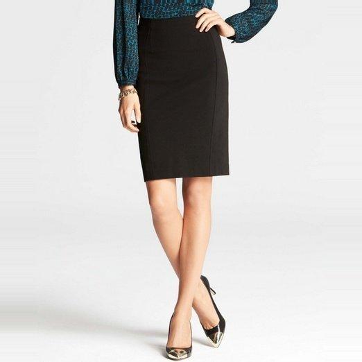 Anne Taylor Ponte Pencil Skirt