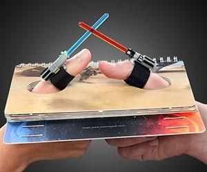Lightsaber Thumb Wrestling