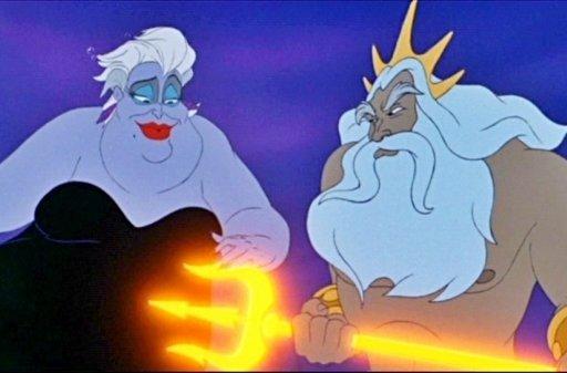 Ursula and Triton