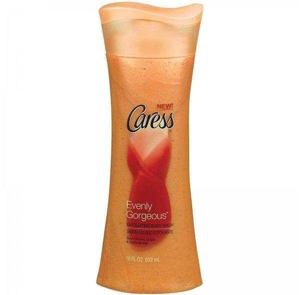 Caress Evenly Gorgeous Exfoliating Body Wash