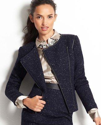 Moto Tweed Jacket