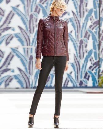 Luxurious Leather Coat