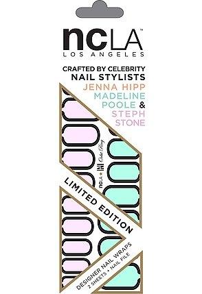 NcLA Nail Wraps in Orbit Ring