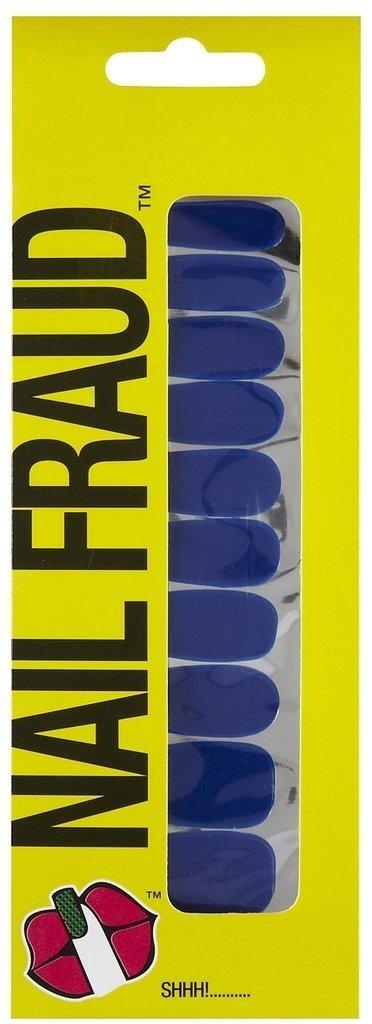 Nail Fraud Nail Polish Strips in Solid Blue