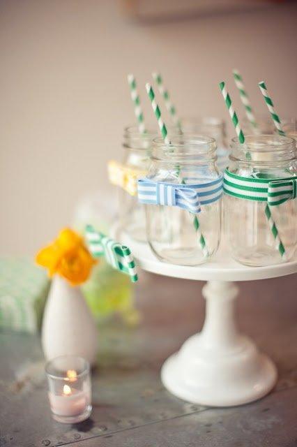 Use Mason Jars for Beverages
