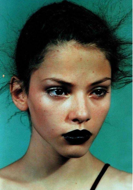 Jet Black Lipstick
