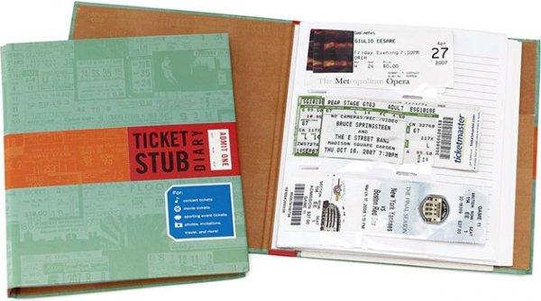 Ticket Stub Journal