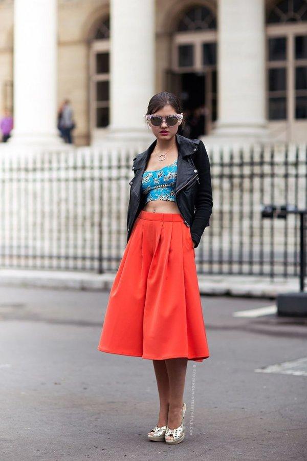 Mid-calf Skirts