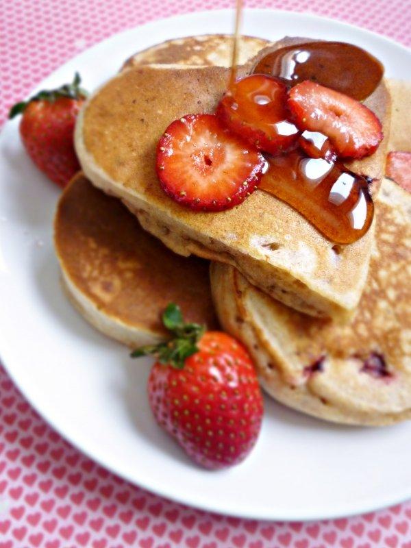 Make Heart Shaped Pancakes