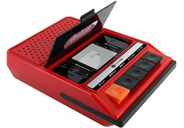 Cassette IPhone Speaker