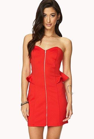 Forever 21 – Rebel Girl Zippered Bodycon Dress