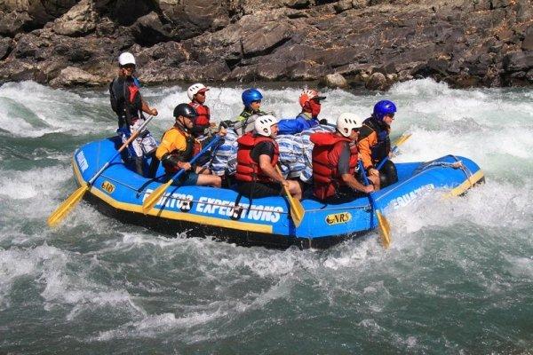 Rapids Rafting