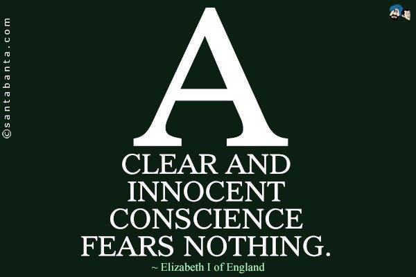 Innocence and Fear