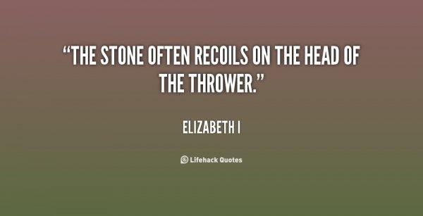 Don't Cast Stones