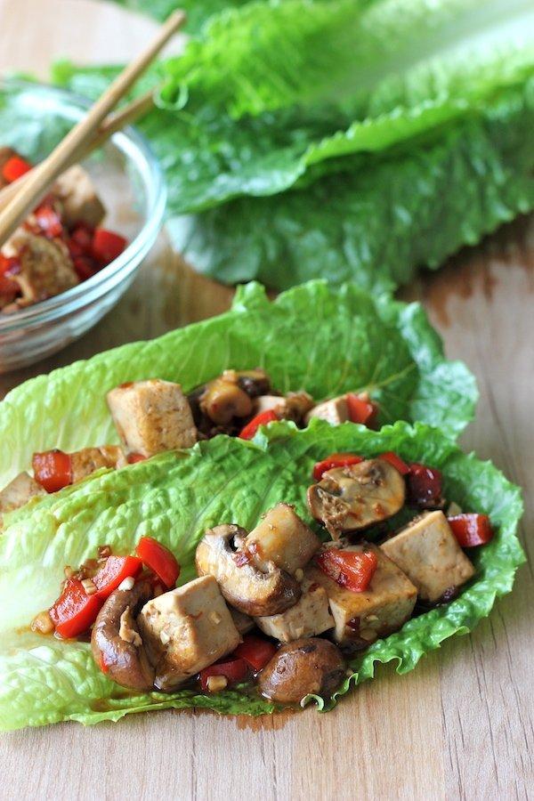Have a Lettuce Veggie Wrap