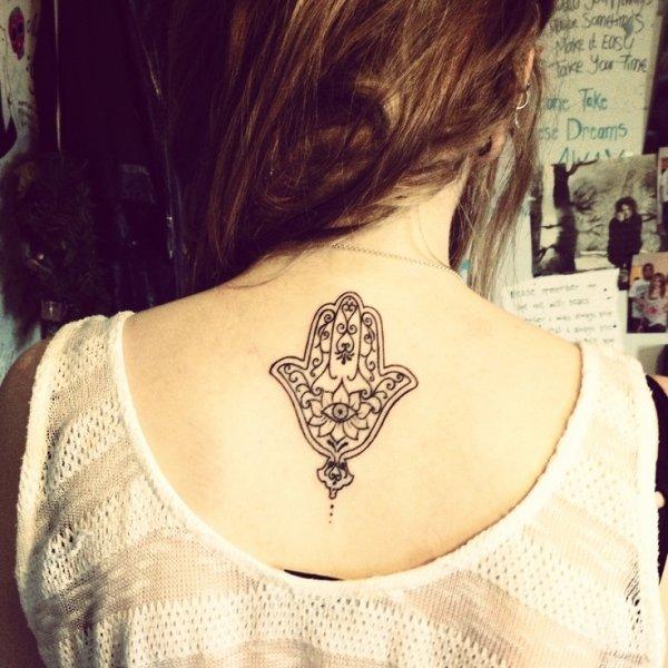 Hamsa 7 Awesome Yoga Tattoos Youve Got To See