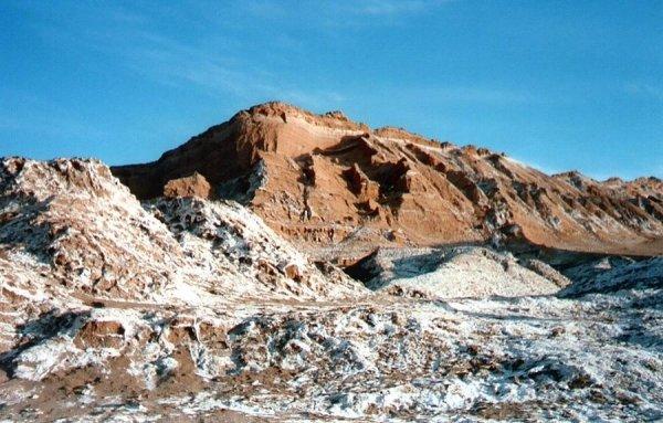 Valle De La Luna in the Atacama Desert, Chile
