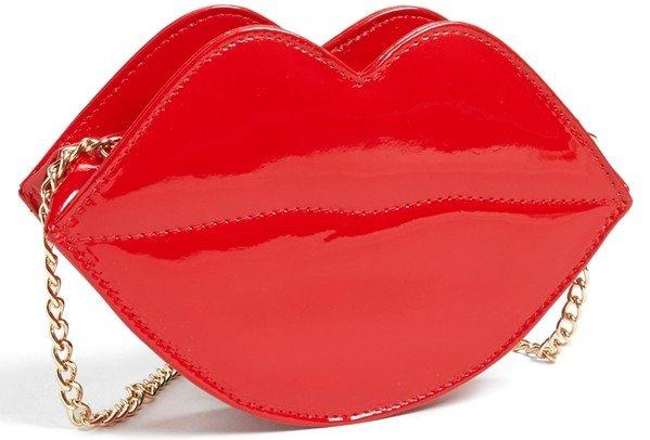 Lip Shaped Bag