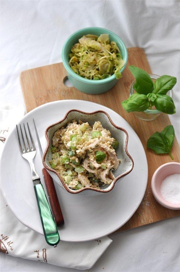 Pulses and Turkey Salad