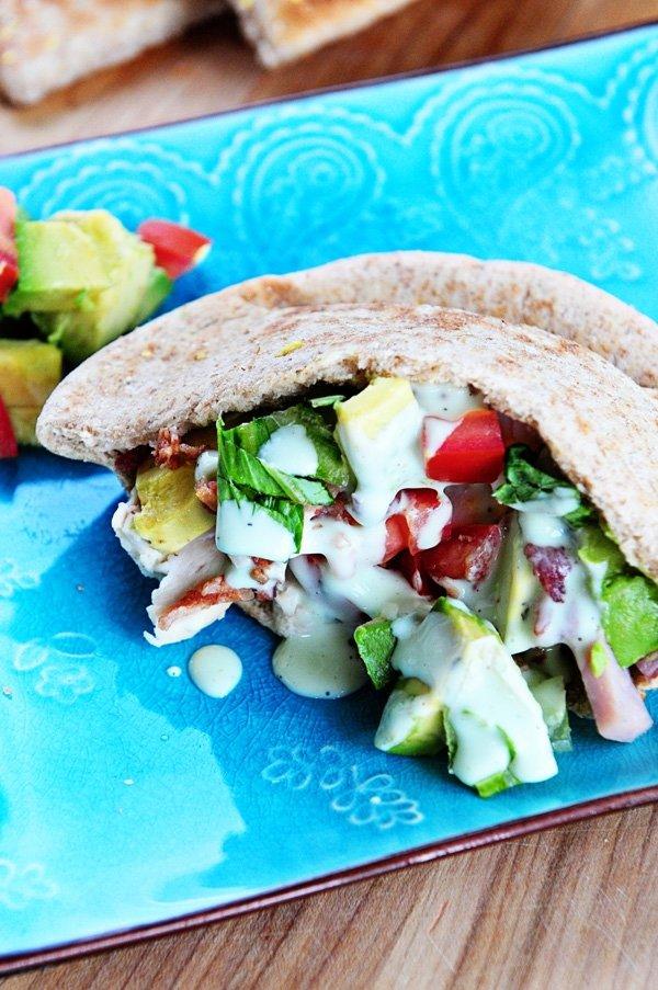 Avocado on Wholegrain Pitta