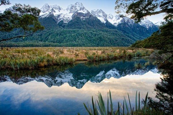 Mt. Aspiring National Park in New Zealand