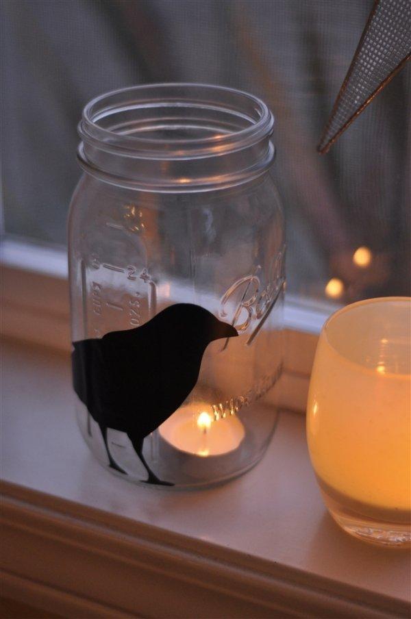 Mason Jar Silhouette