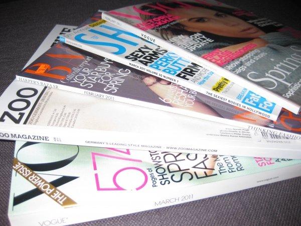 Throw Magazines Away
