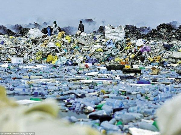 North Pacific Ocean Global Rubbish Dump