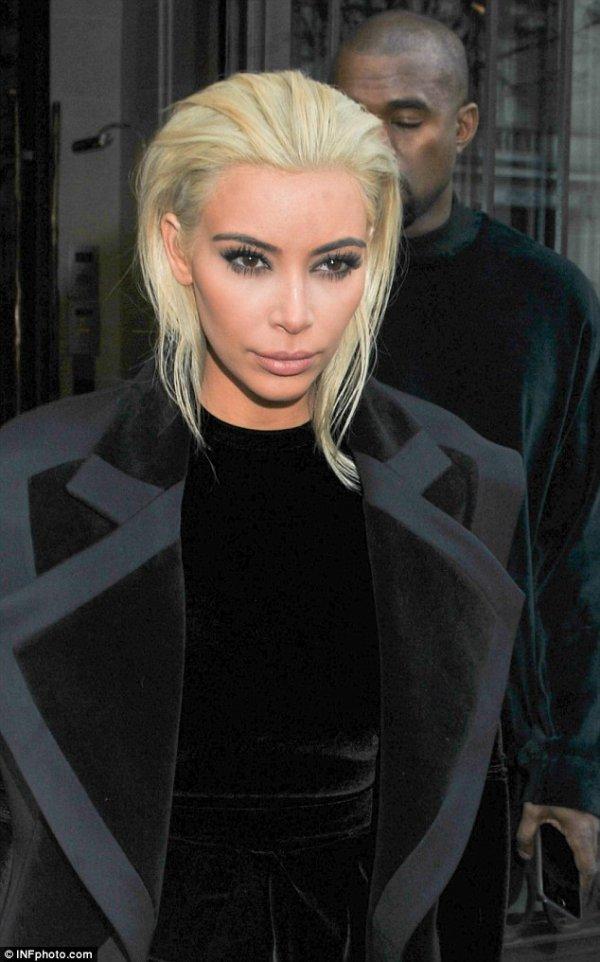 Kim K, the Blonde