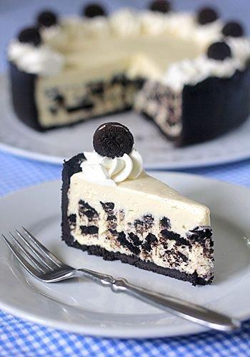 Ice Box Oreo Cheesecake