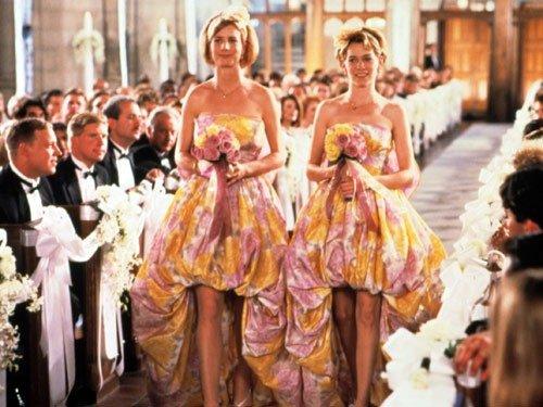 Floral Bridesmaids Dresses (My Best Friend's Wedding)