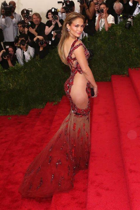 Jennifer Lopez at the 2015 Met Gala