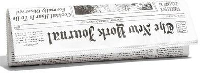 Kate Spade New York Journal Newspaper Clutch