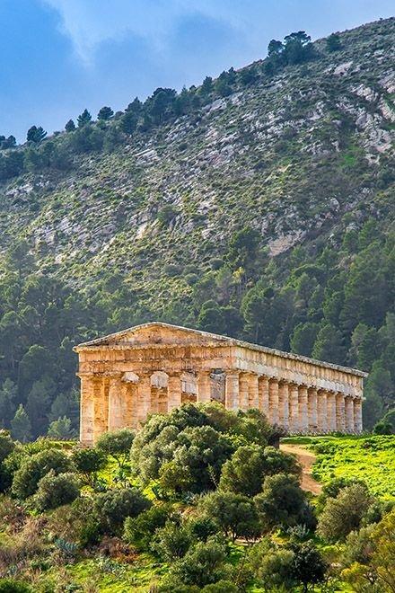 Segesta, Taormina, Sicily