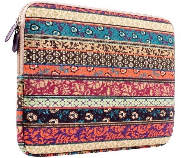 PLEMO Bohemian Style Canvas Fabric