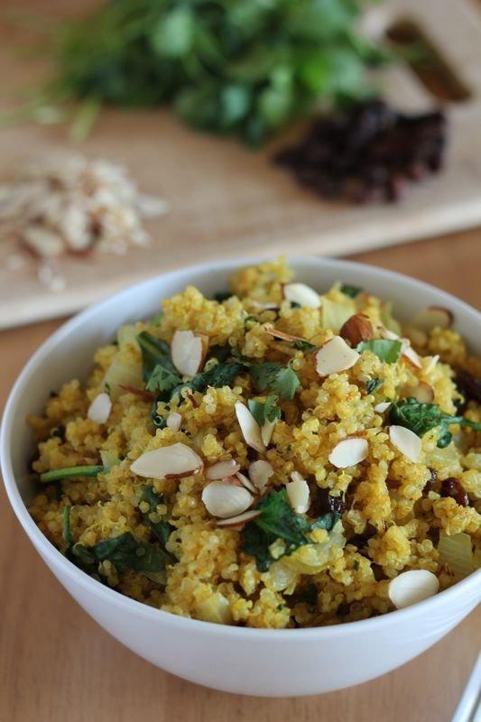 Curried Quinoa Bowl