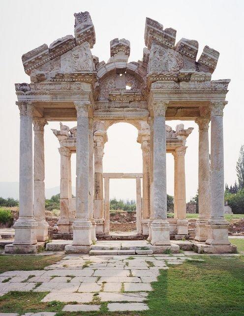 Tetrapylon Gate Aphrodisias, Turkey