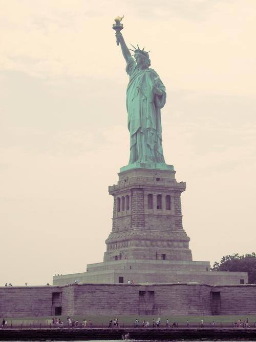 Statue of Liberty, Statue of Liberty, statue, monument, landmark,