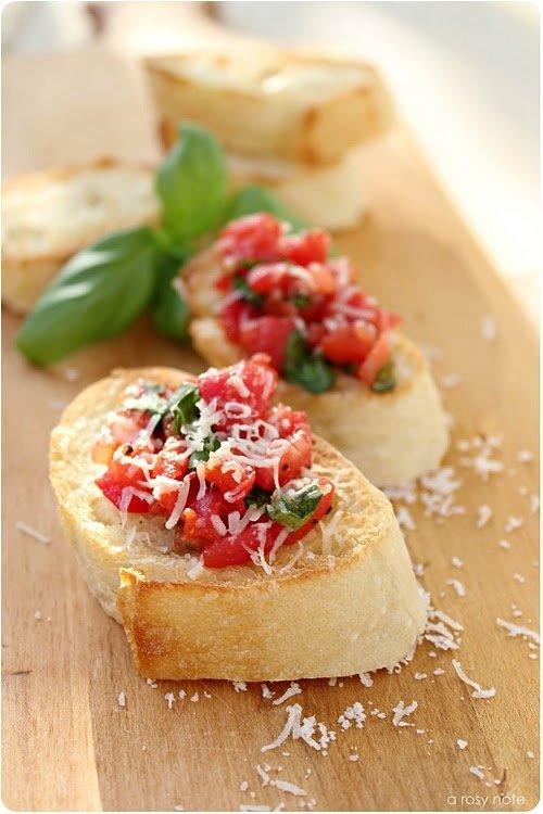 Traditional Bruschetta