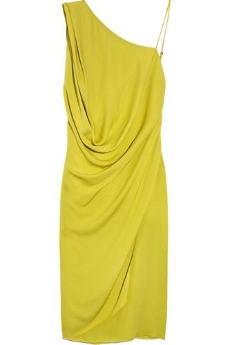 Max Azria Silk-georgette Dress