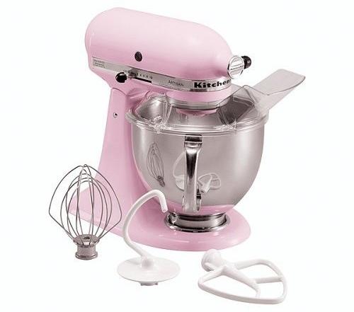 KitchenAid Artisan Stand Mixer in Pink