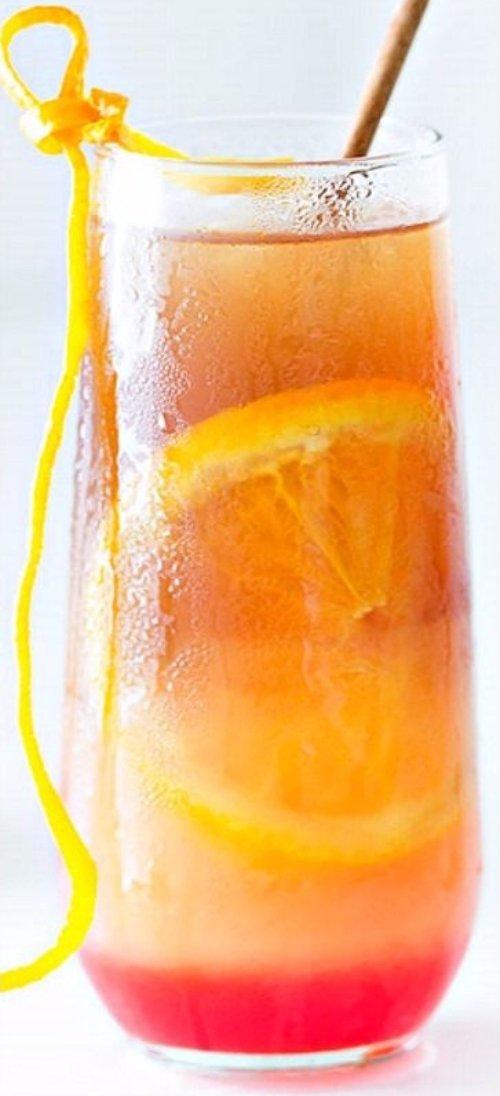 Tropical Fruit Punch Iced Tea