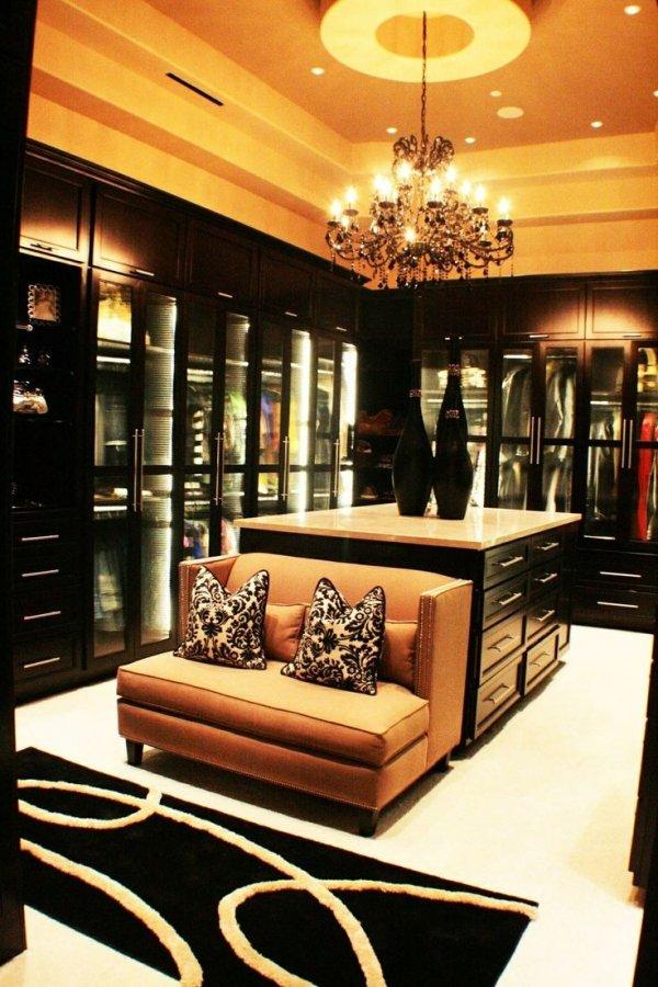 Glamorous Walk in Closet